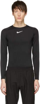 Alyx Black Nike Edition Laser Camo Long Sleeve T-Shirt