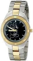 Disney Men's W001899 Mickey Mouse Analog Display Analog Quartz Watch