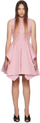 Alexander McQueen Pink Ruffle Dress