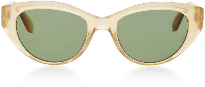 Garrett Leight Del Rey Cat-Eye Acetate Sunglasses