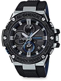 G-Shock Men's Resin and Rubber-Strap Analog Watch