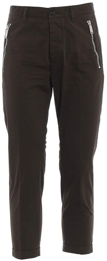 DSQUARED2 Waist Fit Trousers