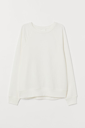 H&M Sweatshirt - White
