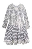 Isobella & Chloe Stone Dye Dress