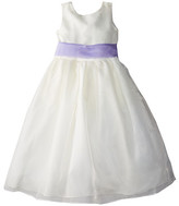 Us Angels Sleeveless Organza Dress (Little Kids)
