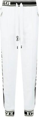 Dolce & Gabbana Logo Stripe Sweatpants