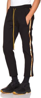 Rhude Traxedo Pant in Black & Gold | FWRD