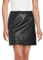French Connection Solid Zip Skirt