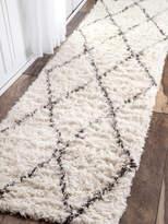 nuLoom Wooldridge Handmade Wool Shag Runner