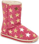 Emu Kids Girls) Hot Pink Starry Night Pull-On Boots