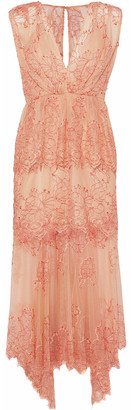 Alice McCall Clementine Lace Peplum Midi Dress