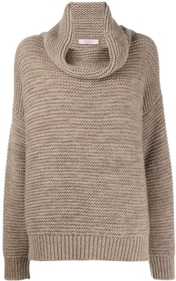Liska Drop Shoulder Cashmere Jumper