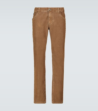 Dolce & Gabbana Skinny-fit corduroy pants