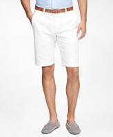 "Brooks Brothers Garment-Dyed 11"" Bermuda Shorts"