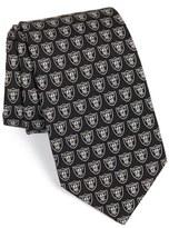 Vineyard Vines Men's 'Oakland Raiders - Nfl' Woven Silk Tie