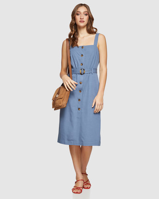 Oxford Isabel Button Up Dress