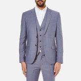 HUGO Men's Slim Fit Alin/Wyns/Hetlin 3 Piece Suit Pale Blue
