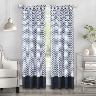 Achim Callie Cuff Tab Top Window Curtain Panel