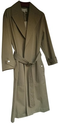 Vanessa Bruno Beige Cotton Trench Coat for Women