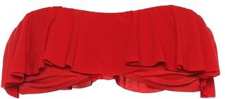 Norma Kamali Ruffled bikini top