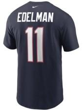 Nike New England Patriots Men's Pride Name and Number Wordmark T-Shirt - Julian Edelman