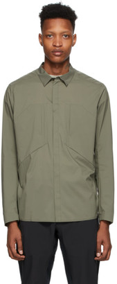 Veilance Taupe Demlo Over Shirt