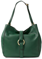 MICHAEL Michael Kors Strap Cashmere Leather Hobo