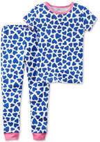 Carter's 2-Pc. Heart-Print Cotton Pajamas, Baby Girls