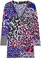 Versace Printed Jersey Top