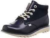 Kickers Kick Hi Side, Leather Dk Blue, Women's Ankle Boots,(36 EU)