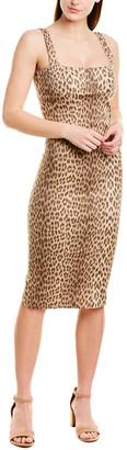 Capulet Lola Leopard-Print Midi Dress
