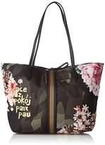 Desigual Womens Bols_capri Militar Flores U Shoulder Handbag
