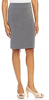 Alex Marie Crissy Bi-Stretch Double Vent Pencil Skirt