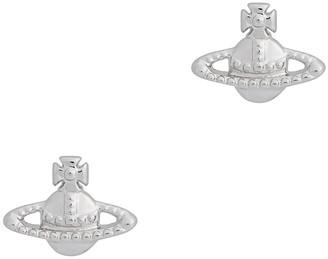 Vivienne Westwood Farah Silver-tone Stud Earrings
