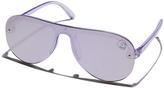 Cheap Monday Gazer Sunglasses Purple