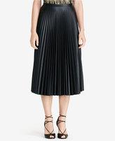 Lauren Ralph Lauren Pleated Midi Skirt