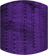 Asstd National Brand Purple Jungle Drum Lamp Shade