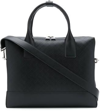 Bottega Veneta Embossed Briefcase