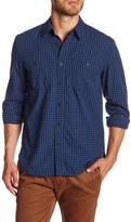 Lucky Brand Gingham Long Sleeve Regular Fit Shirt