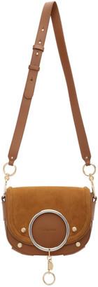 See by Chloe Brown Mara Crossbody Bag