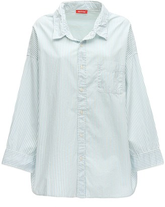 Denimist Striped Cotton Poplin Shirt