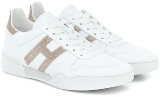 Hogan H357 Retro leather sneakers