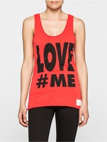 Calvin Klein Love#me Regular Fit Tank Top