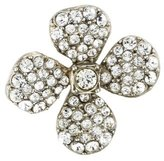 Sonia Rykiel Crystal Flower Brooch Pin