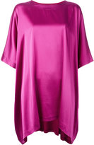 Tsumori Chisato oversized tunic - women - Silk/Cupro/Lyocell - 3