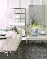 Bernhardt Keasling Tufted-Leather Sofa