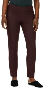 Eileen Fisher Slim Ankle Pants Available in Regular & Petite Sizes