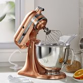 Crate & Barrel KitchenAid ® Copper Metallic Series Stand Mixer