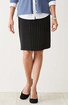 J. Jill Metropolitan Center-Pleated Skirt