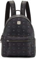 MCM Stark Small No Stud Backpack, Black